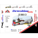 Dewoitine D.500C1 Arsenal Model Group AMG48401