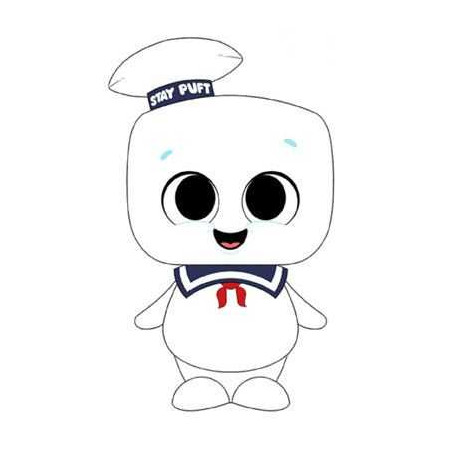 Funko 39507 Sos Ghosts Plush Super Cute Stay Puft 18 Peluches Ghostbusters The Largest Choice With 1001hobbies Com