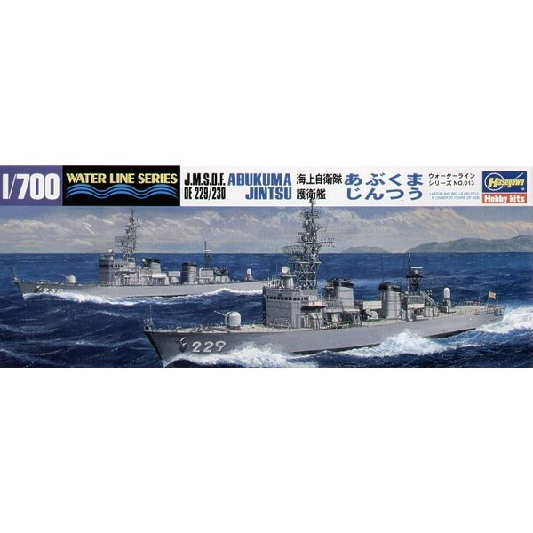 JMSDF Destroyers Abukuma & Jintsu (2 ships in 1 box)