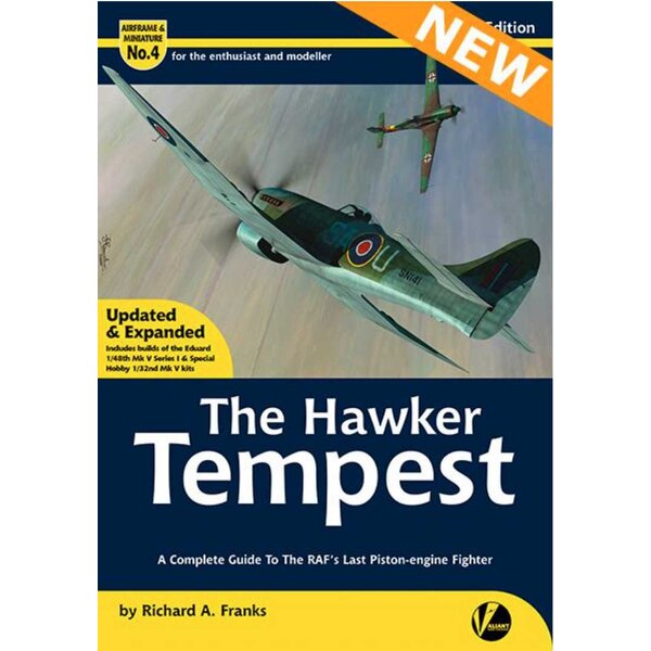 Book AM-4 Re-printed and updated.The Hawker Tempest