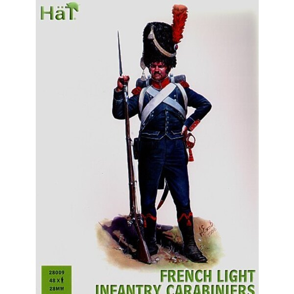 French Carabiniers x 48 hard plastic figures