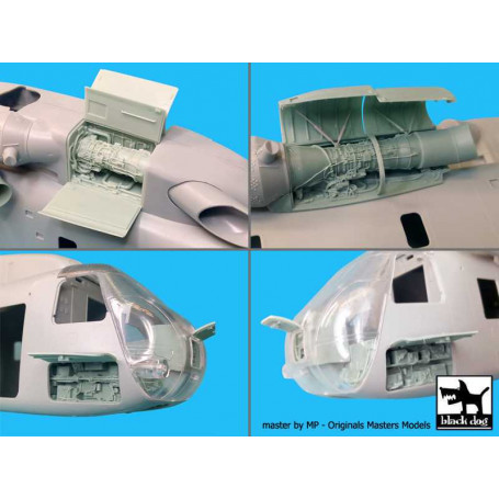 Black Dog 1//48 MH-60K Big Detail Set for Italeri kits