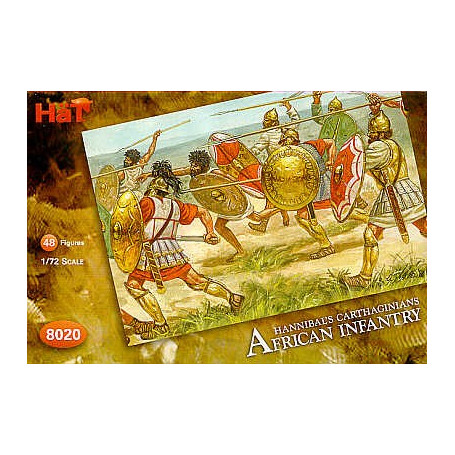 Hat Carthaginian african infantry 1:72