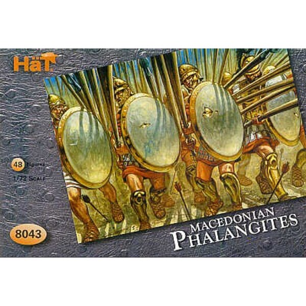 Alexander′s Phalangites 48 figures (without weapons)