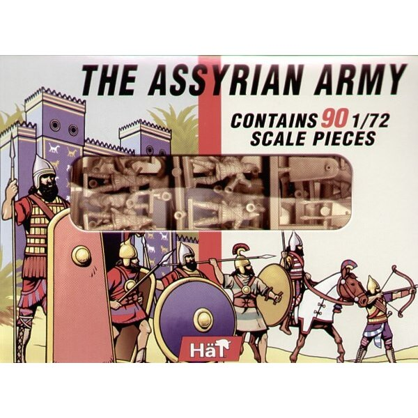 Assyrian Infantry x 90 (composed of previously released figures)