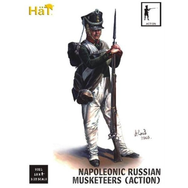 Russian Infantry Action (Napoleonic Period)