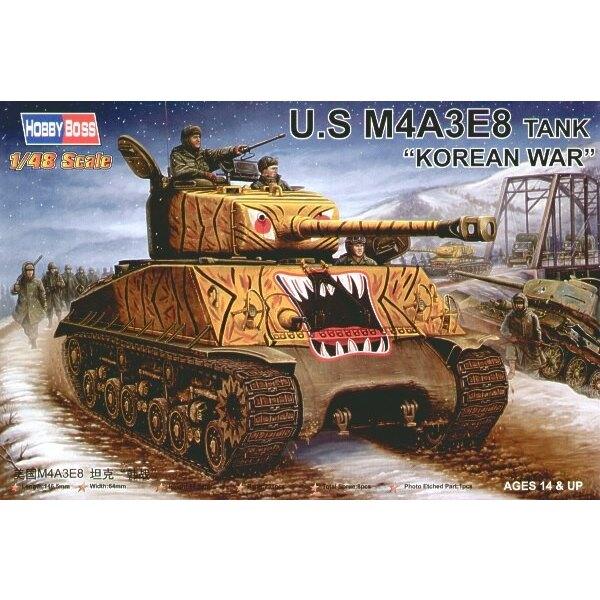 US M4A3E8 Tank