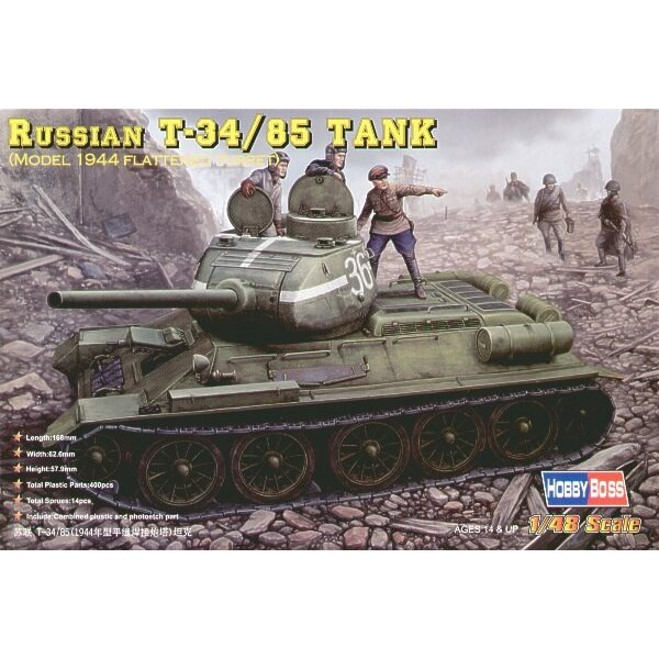 T-34/85 1944 type with Flattened Turret)
