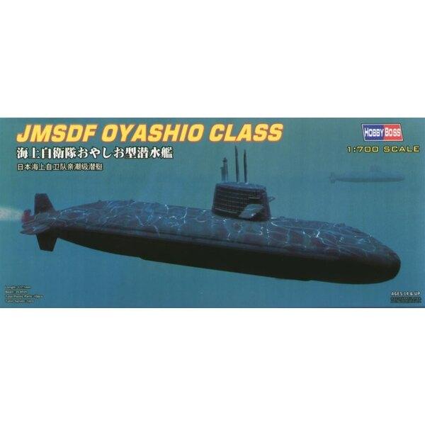 JMSDF Oyashio Class Submarine (submarines)