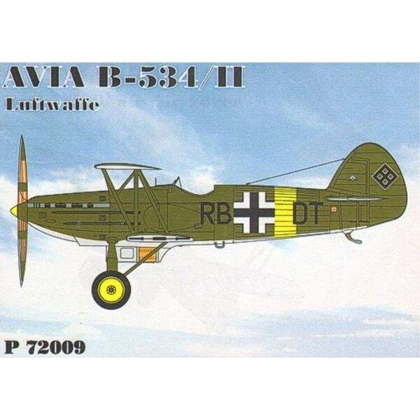 Avia B-534/II Luftwaffe (incl. PE)