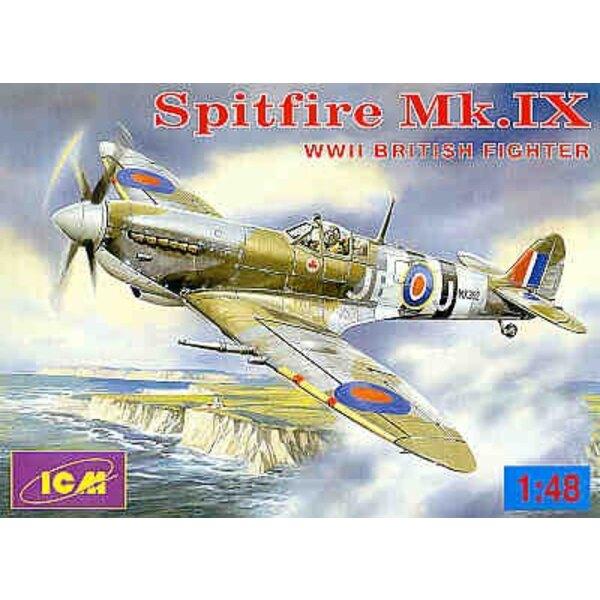 Supermarine Spitfire Mk.IX WWII British Fighter