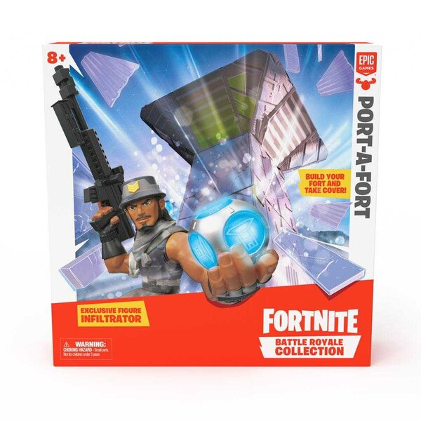 Fortnite playset Royal Battle Port-a-Fort Collection