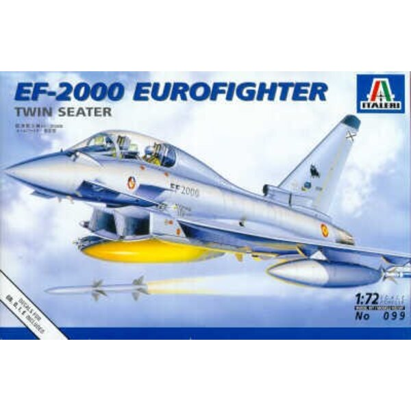 Eurofighter EF-2000 Typhoon twin seat Decals for RAF LuftwaffeSpain and Italy test a/c