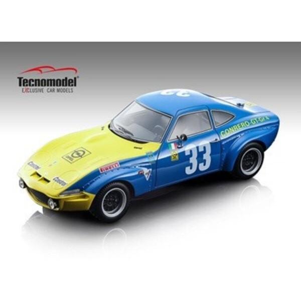 OPEL GT 1900 33 FACETTI / BEAUMONT TARGA FLORIO 1972