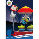 Toy Story PVC diorama Alien's Rocket Deluxe Edition 15 cm Beast Kingdom Toys BKDDS-031