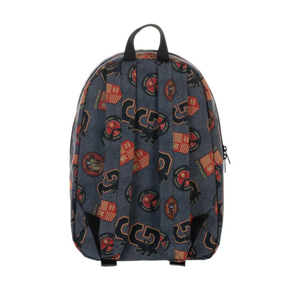 Harry Potter Backpack Gryffindor Patches