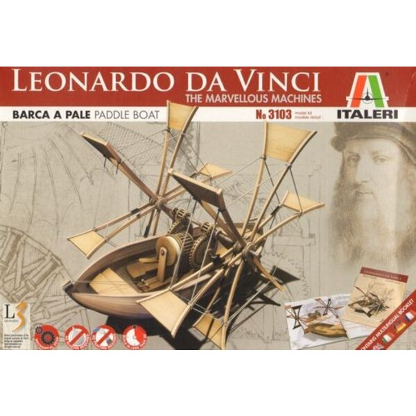Leonardo Da Vinci Paddle Boat The Marvellous Machines