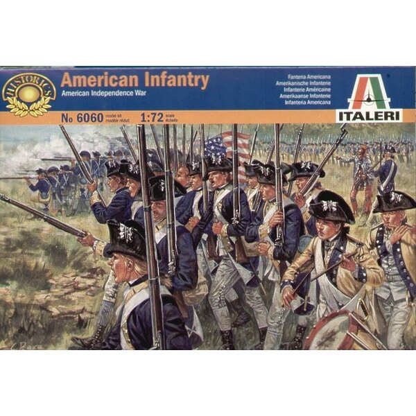 American Independnce War American Infantry