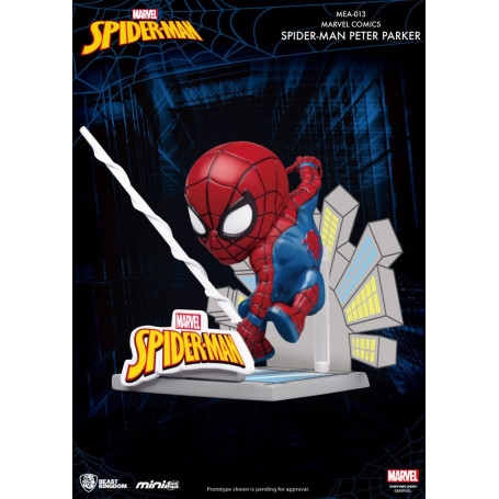 New Marvel Spiderman Coin Bank Peter Parker Spider man Comic Toy Action Figure