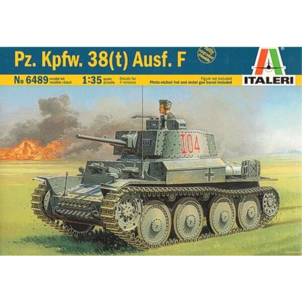 Pz.Kpfw 38(t) Ausf. E/F