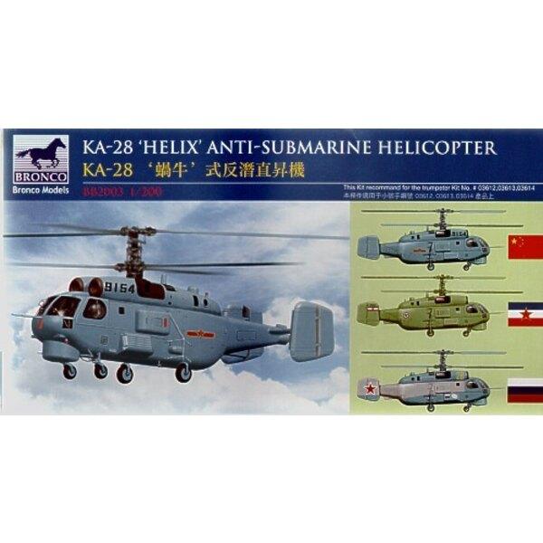 KA-28 ′Helix′ Anti-Submarine Helicopter