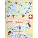 decals boeing b-17g-35-bo (swiss af) (designed to be assembled with model kits from academy hasegawa