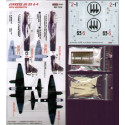 decals junkers ju 88a-4 reggiane aeronautica (designed to be assembled with model kits from italeri