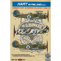 decals hawker hart. on skis. decals finland. swedish voluntary wing f19 part 1