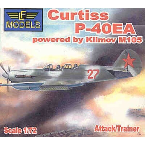 Curtiss P-40EA Attack/2 seat Trainer with Klimov M105 engi