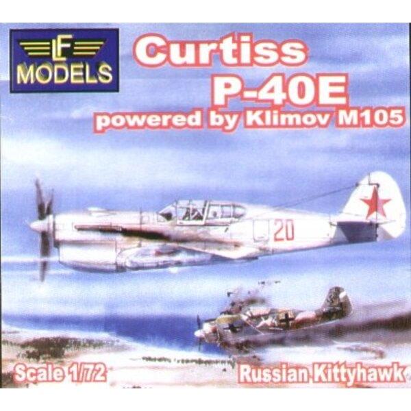 Curtiss P-40E Klimov