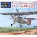 LF 1 Zaunkonig Decals for Luftwaffe and RAF 1945 (TH Braunschweig LF 1 Zaunkonig) LF Models LF72043
