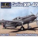 Curtiss XP-40 initial configuration LF Models LF72059
