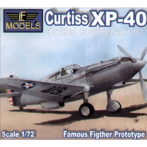 Curtiss XP-40 initial configuration