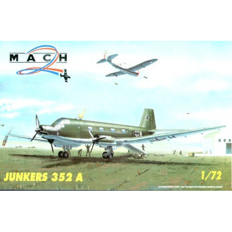Junkers Ju 352A 3 engined transport aircraft