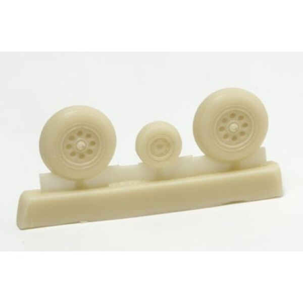 Hawker Hawker Hunter wheels (designed to be assembled with model kits from Academy)