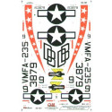 decals f-4j (1) 153879 db/9 vmfa-235 death angles mcas kaneohe bay 1970