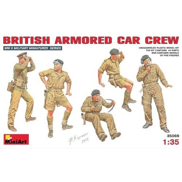 British Armoured Car Crew x 5