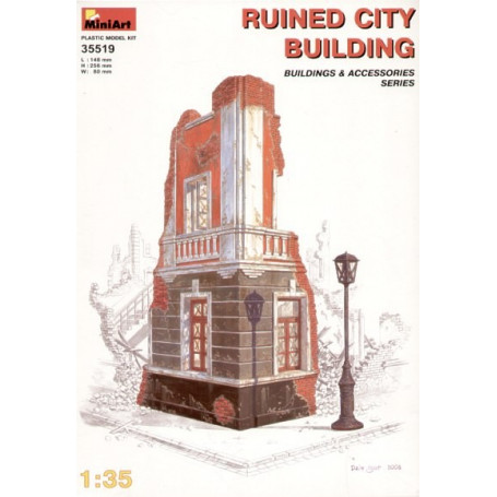 MINIART 35519 Ruined City Building 1:35