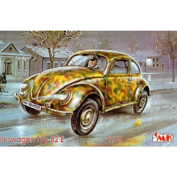 VW/Volkswagen type 82 UPGRADED with resin parts and standing driver figure