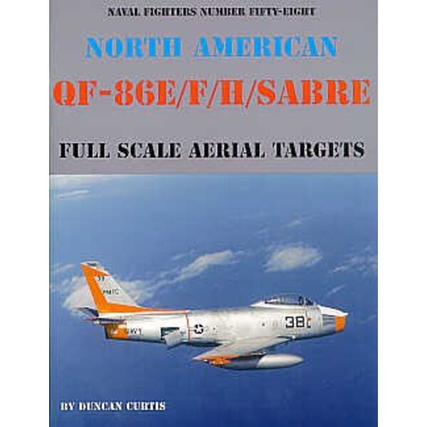 Book North American QF-86E/F/H. Full Scale Aerial Targets 80 pages