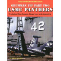 book grumman f9f panther usmc part two. includes blue angels reserves and argetina by steve ginter.