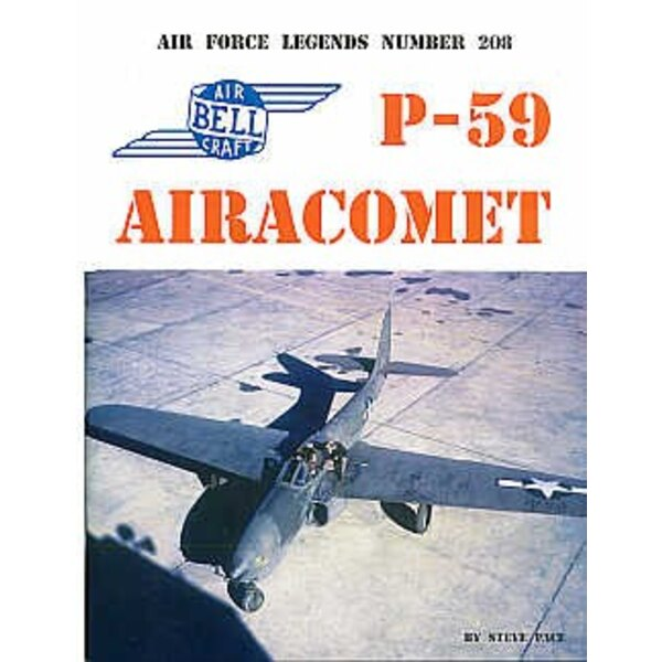 Legends: Bell P-59 Airacomet 88 pages