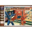 boxer rebellion 1900-01. 42 figures in 21 poses