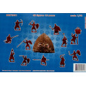 Russian Foot Knights (Druzhina) 11-13cc Orion Figures ORI72031