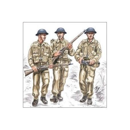 British Soldiers WWII x 3