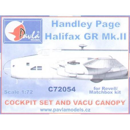 Pavla C72054 1//72 résine cockpit handley-page halifax matchbox revell