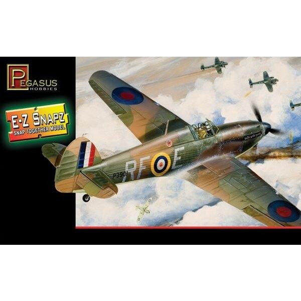 Hawker Hurricane Mk.I (Snap together)