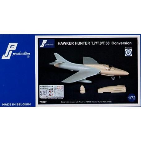 Mark I Plastik,NEU Hawker Hunter T.8B//T.8C Marine Trainer 1:144