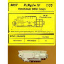 pz.kpfw.iv transmission (designed to be assembled with model kits from tamiya)