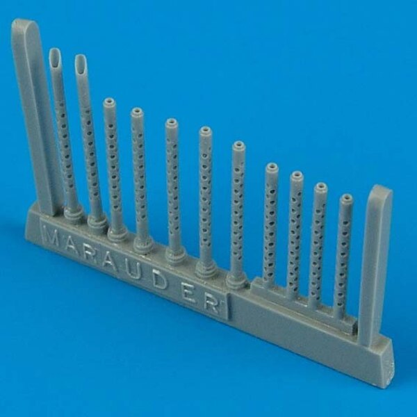 Martin B-26 Marauder gun barrels (designed to be assembled with model kits from Revell)